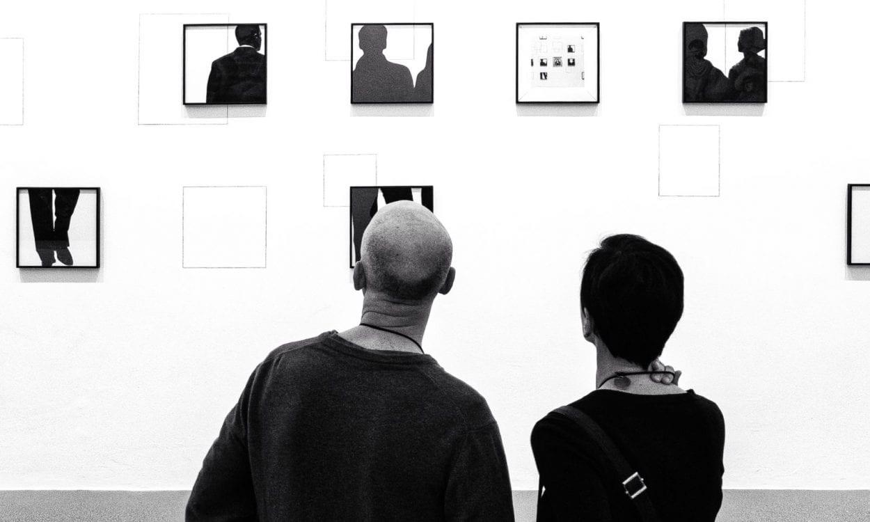 Konst på galleri