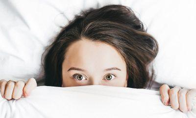 Kvinna kan inte sova